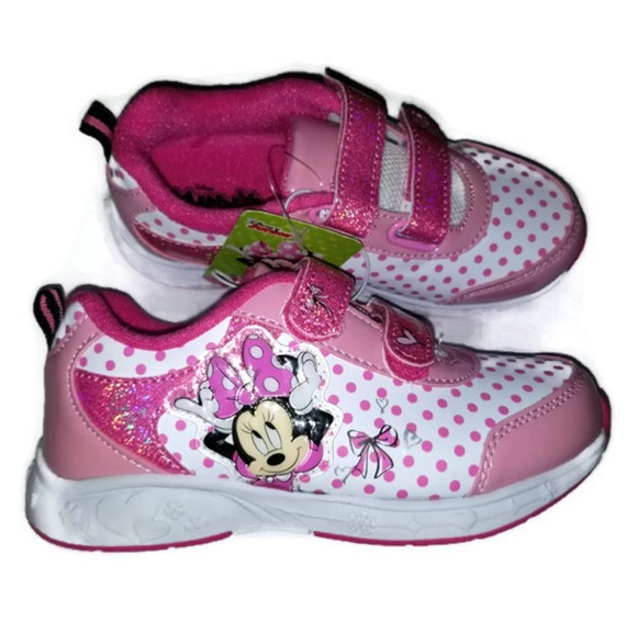 90a16f69682a5 Girl's Minnie Mouse Shoe's NWT